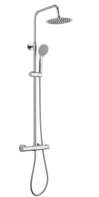 Columna con grifería termostática ERGOS ducha