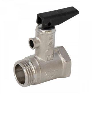 Válvula de seguridad para calentadores